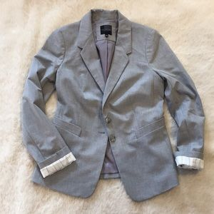 The Limited Gray Blazer